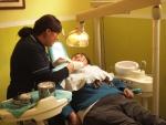 La dentist...